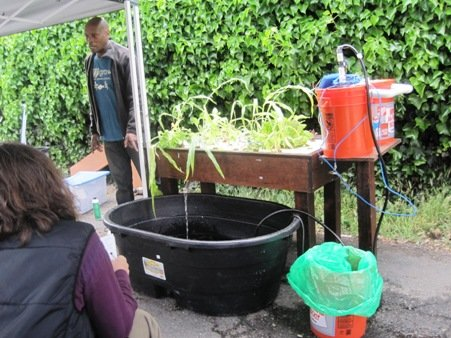 aquaponics demonstration west oakland