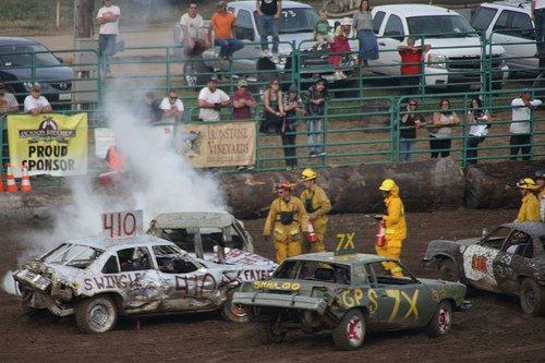 calaveras county fair demolition derby