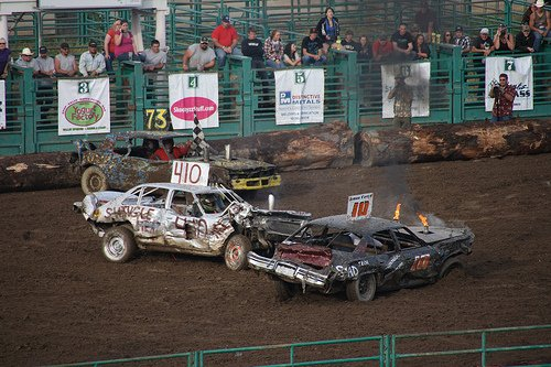 calaveras fair destruction derby