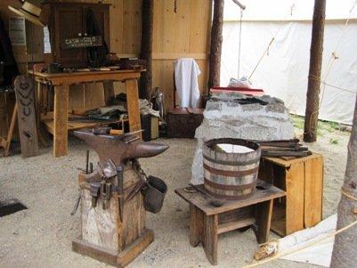 columbia diggins blacksmith