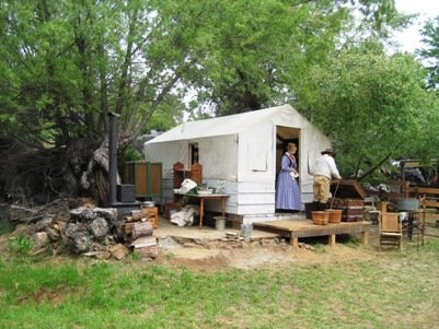 columbia diggins tent town home