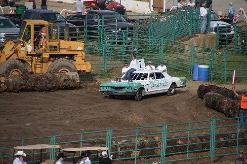 destruction derby calaveras county fair
