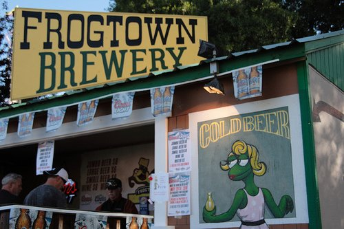 frogtown brewery frog jumps