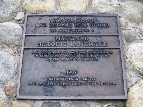 wawona hotel historical landmark
