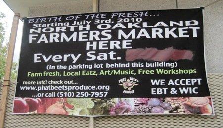 west oakland farmers market phat beets produce