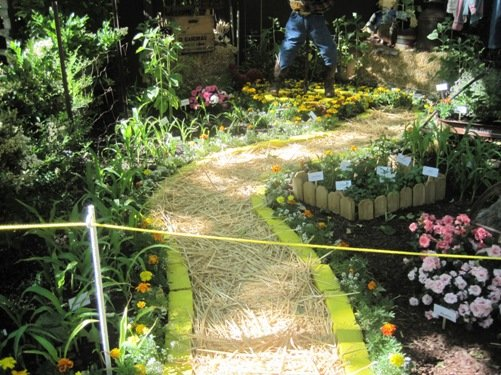 yellow brick road garden