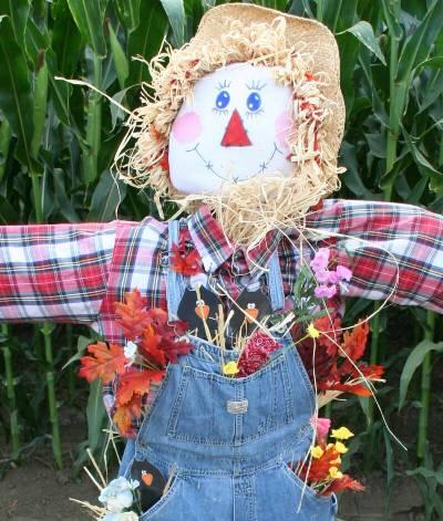dell osso farms scarecrow
