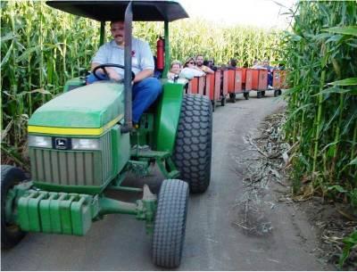 dellosso farms tractor train