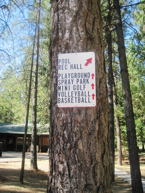 free activities gold country campground