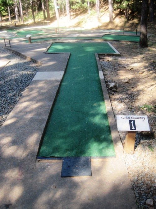 gold country campground resort mini golf