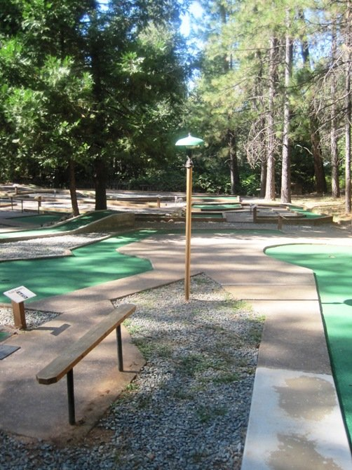 mini golf gold country campground resort