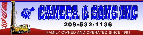 canepa sons well drilling in california