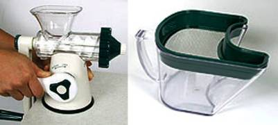 Manual healthy juicer