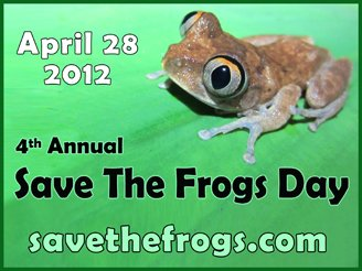 save the frogs day 2012