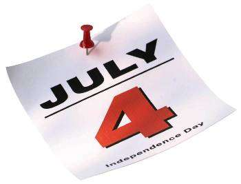 july 4 is independence day