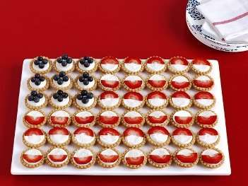 patriotic fruit tarts fourth of july