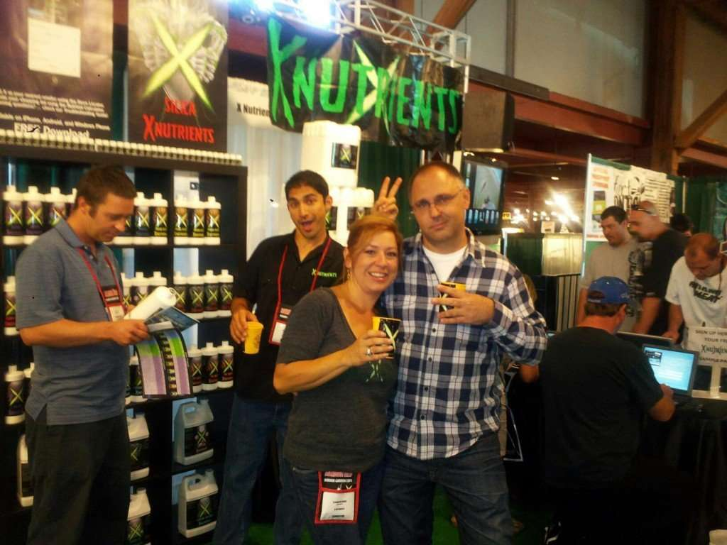 Hanging out with X Nutrients at the Maximum Yield's 9th Annual Grow Like a Pro Indoor Gardening Expo In Francisco. CA