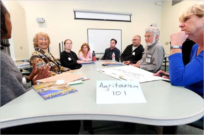 Agritourism Workshop in Salinas, CA with Nita Gizdich